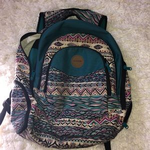 colorful dakine brand backpack